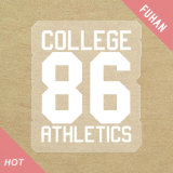Text and Number Heat Transfer Label for Clothing