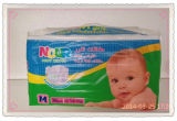 Super Soft Perforated Cotton Fibre Surface, Sap Paper, Magic Tape Smart Baby Diaper