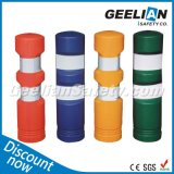 Green Reflective Delineator Warning Post