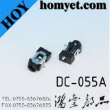 3pin SMD DC Power Jack with Location Pin (DC-055A)
