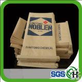 Brown Kraft Paper Laminated PP Woven Cement Bag