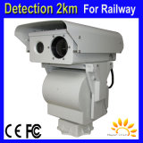 6km Forest Fire Alarm Security Thermal IP Cameras