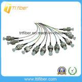 12 Color 0.9mm St Upc 12 Core Fiber Optic Pigtail