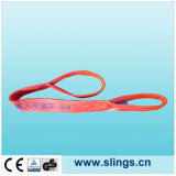 Red Polyester Endless Type Webbing Sling