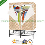 Folding PP Non Woven Portable Fabric Wardrobe (LD150E)