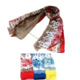 Classical Lady Peony Retro Voile Shawls