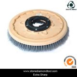 High Quality Round Diamond Steel Wire Stone Floor Brush