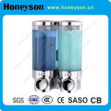 Wall Mounted Chrome-Plating Hand Liquid Soap Dispenser
