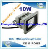 Yaye 18 Ce/RoHS/Saso/UL Best Sell 10W LED Flood Light / 10W LED Tunnel Light / 10W Flood Light LED