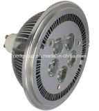 10W AR111 GU10 COB LED Light, CE&RoHS, SAA Approved