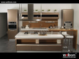 Modern Island Kitchen Cabinets Lacquered