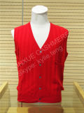 Fashion Style Cashmere Knitted Men Vest for Sale