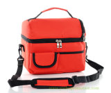 Waterproof Pinic Shoulder Strap Cooler Bag with Partition Inside