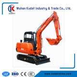 0.14m3 Bucket Micro Crawler 4 Ton Diesel China Cheap Mini Excavator for Sale