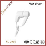 Different Type Durable Wall Mounted Hotel Hair Dryer Factory