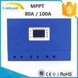 MPPT 80A/100A 48V/36V/24V/12V Self Cooling+RS232-Port Solar Controller Master-100A