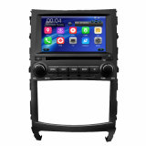 Car Double DIN DVD Player Built-in WiFi Bt Radio GPS 1080P TPMS DVB Digital TV Options for Hyundai Veracruz 2012 -2017