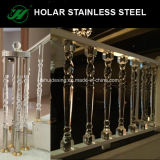 Stainless Steel Acrylic Material Balusterade Post Designs