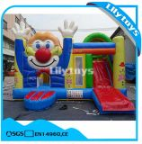 Kids Jumping Castle Inflatable Clown Slide Combo