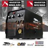Dual-Voltage 110V/220V/60Hz MMA/Mag/MIG Inverter DC Welding Machine
