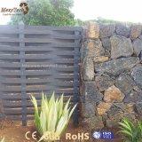 Outdoor Cheap Garden Weave Aluminum WPC Fence Panels for Sale