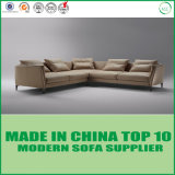 Contemporary Leather Furniture Set Living Room Wooden Sofa