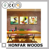 Frameless Abstract Decoration Painting for Hotel Wall Decoration