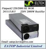 Eltek Flatpack2 220/2000 He Wor 241115.815 2000W 220VDC Rectifier Module