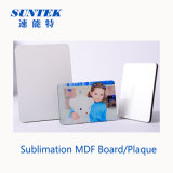 China 12mm White Printable Sublimation MDF Board/Plaque