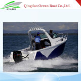 China Factory Supply Aluminum 5.8m Dinghy Pleasure Fishing Yacht