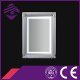Jnh273-W Rectangle Modern Art Framed Silver Bathroom Glass Mirror