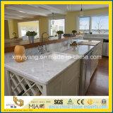 Prefabricated Carrara White Marble Kitchen Countertops