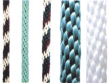 PE PP Polyester Nylon Solid Braided Rope