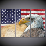 Printed Animals Eagles Painting Canvas Print Room Decor Print Poster Picture Canvas Mc-128