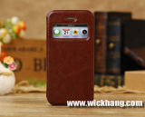 PU Leather Phone Flip Case for iPhone 5c (WH-CAI5C003)