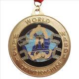 Sport Enamel Medal in Copper Plating