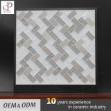 Foshan Crystal Glass Mix Marble Mosaic Tile for Wall Decoration