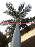 4m Height PVC Bark Decorative Fake Artificial Date Palm Tree