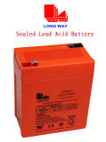Sealed Rechargeable Lead-Acid Battery for Fire & Security System (6V6.5AH/20HR)