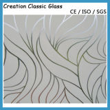 Frosting / Acid-Etched Glass for Building Glass/Decorative Glass