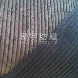 6W Cut Pile Polyester Nylon Corduroy for Sofa Covers