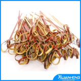 Best Quality Creative Pinic Looped Bamboo Skewers