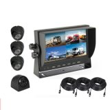 7 Inch Car Monitor with USB 4ways Channel Video Recording