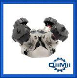 Vdz-54 Sanitary Stainless Steel Multi-Ports Diaphragm Valve
