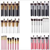 10PCS Foundation Eye Shadow Custom Make up Brush Wholesale