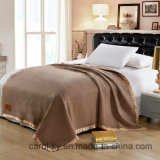Hotel Military Wool Acrylic Blended Brush Blanket