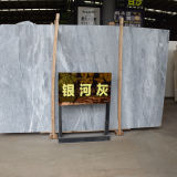 Galactic Grey Slab Stone Honed Prioject Marble Tile for Sale