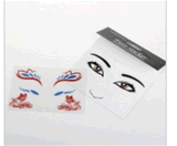 Fashionable Face Waterproof Temporary Tattoo Stickers Art Tattoo