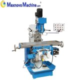 Gear Driving Universal Turret Milling Machine with Swivel Head (mm-MFM250)