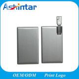 Metal Card USB Flash Memory Mini Waterproof USB Drive
